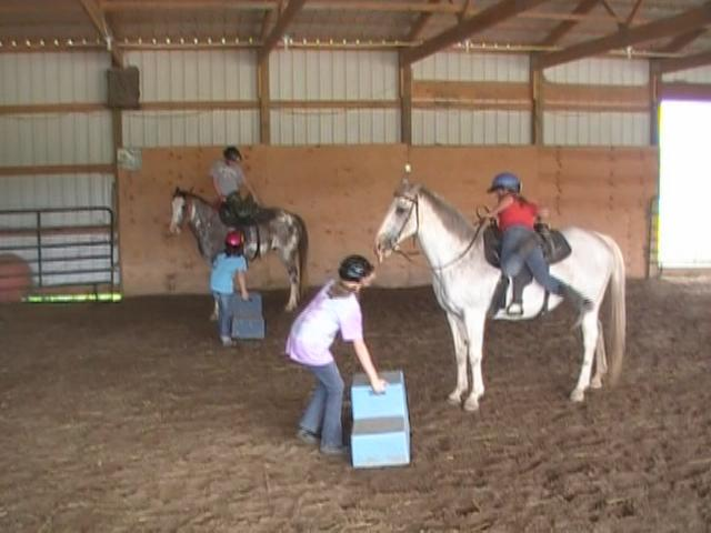 riding lessons at a little bit of heaven